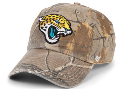 Jacksonville Jaguars '47 NFL Real Tree '47 CLEAN UP Cap