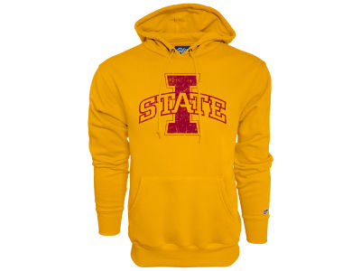 Iowa State Cyclones Blue 84 NCAA Men's Primary Logo Hooded Sweatshirt