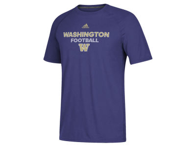 Washington Huskies adidas NCAA Men's Sideline Rush Football T-Shirt
