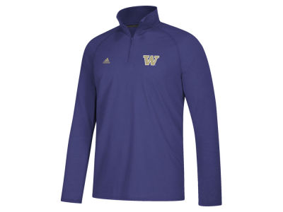 Washington Huskies adidas NCAA Men's Sideline Definition Quarter Zip Pullover