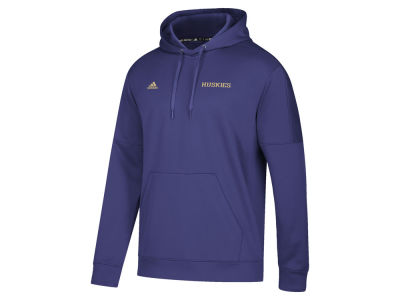 Washington Huskies adidas NCAA Men's Team Issue Sideline Wordmark Hooded Sweatshirt