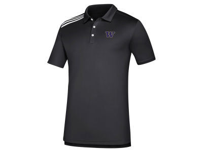 Washington Huskies adidas NCAA Men's 3-Stripe Polo