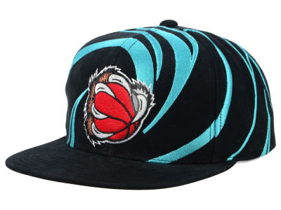 Vancouver Grizzlies Mitchell & Ness NBA Hurricane Snapback Cap