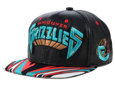 Vancouver Grizzlies Mitchell & Ness NBA Rapid Snapback Cap