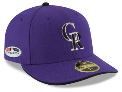 Colorado Rockies New Era 2018 MLB Postseason Patch Low Profile 59FIFTY Cap