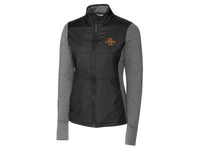 Iowa State Cyclones Cutter & Buck NCAA Women's Stealth Full Zip Jacket