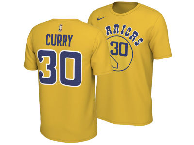 Golden State Warriors Stephen Curry Nike NBA Men's Hardwood Classics Name and Number T-Shirt