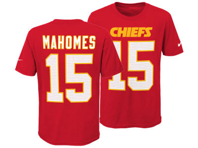 Kansas City Chiefs Pat Mahomes Nike NFL Youth Pride Name and Number 3.0 T-Shirt