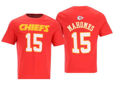 Kansas City Chiefs Pat Mahomes Outerstuff NFL Kids Mainliner Player T-Shirt