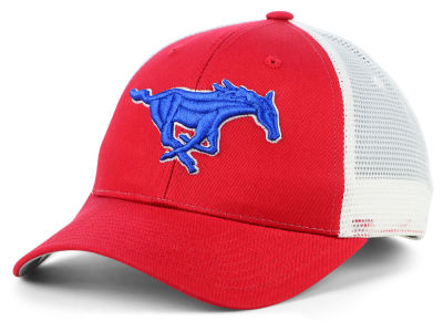 Southern Methodist Mustangs Zephyr NCAA Big Rig Mesh Cap
