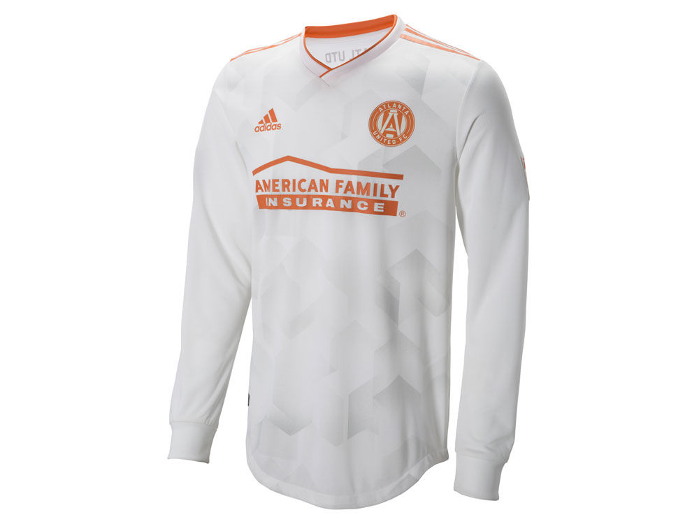 Atlanta United FC adidas MLS Men s Long Sleeve Secondary Authentic Jersey  3a0367965b80
