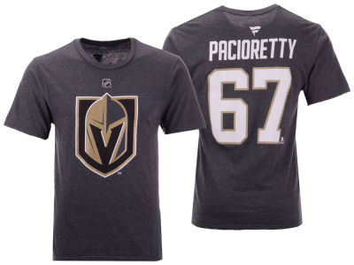 Vegas Golden Knights Max Pacioretty NHL Men's Authentic Stack Name & Number T-Shirt