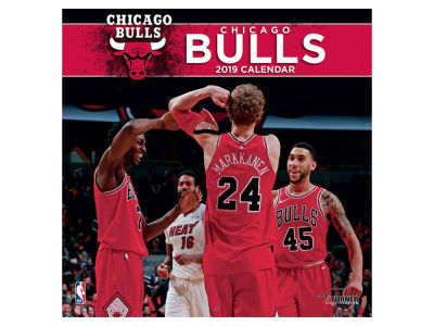 Chicago Bulls 2019 12x12 Wall Calendar