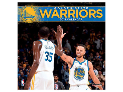 Golden State Warriors 2019 12x12 Wall Calendar