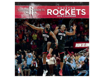 Houston Rockets 2019 12x12 Wall Calendar