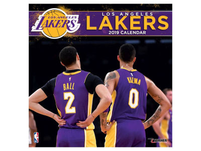 Los Angeles Lakers 2019 12x12 Wall Calendar
