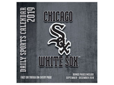 Chicago White Sox 2019 Box Calendar
