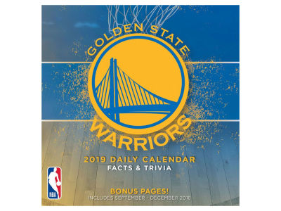 Golden State Warriors 2019 Box Calendar