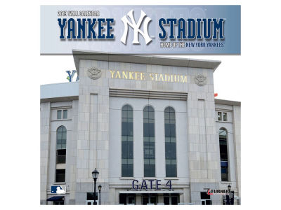 New York Yankees 2019 12x12 Wall Stadium Calendar