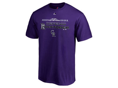 Colorado Rockies 2018 MLB Men's Division Series T-Shirt