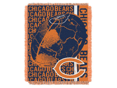 Chicago Bears The Northwest Company Double Play Jaquard Blanket