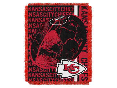 Kansas City Chiefs The Northwest Company Double Play Jaquard Blanket