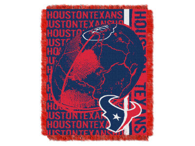 Houston Texans The Northwest Company Double Play Jaquard Blanket