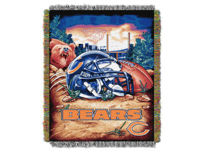 Chicago Bears The Northwest Company Home Field Advantage Tapestry Throw Blanket