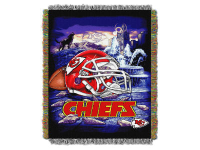 Kansas City Chiefs The Northwest Company Home Field Advantage Tapestry Throw Blanket
