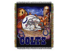 Indianapolis Colts The Northwest Company Home Field Advantage Tapestry Throw Blanket Bed & Bath