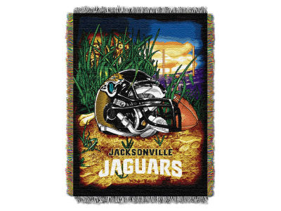 Jacksonville Jaguars The Northwest Company Home Field Advantage Tapestry Throw Blanket