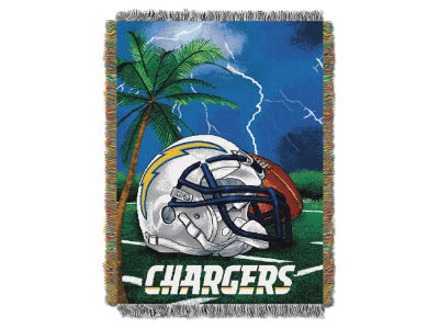 Los Angeles Chargers The Northwest Company Home Field Advantage Tapestry Throw Blanket