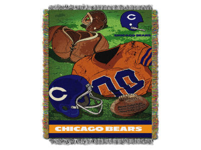 Chicago Bears The Northwest Company Vintage Tapestry Throw Blanket