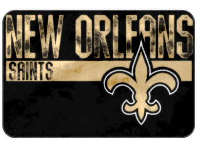 New Orleans Saints The Northwest Company Worn Out Foam Mat