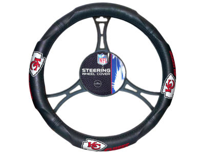 Kansas City Chiefs The Northwest Company Car Steering Wheel Cover