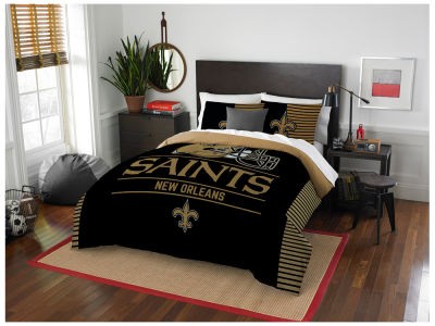 New Orleans Saints The Northwest Company Draft Full/Queen Comforter Set