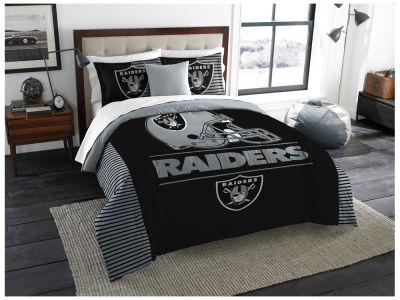 Oakland Raiders The Northwest Company King Printed Comforter & Shams Set