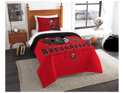 Tampa Bay Buccaneers The Northwest Company Draft Twin Comforter Set