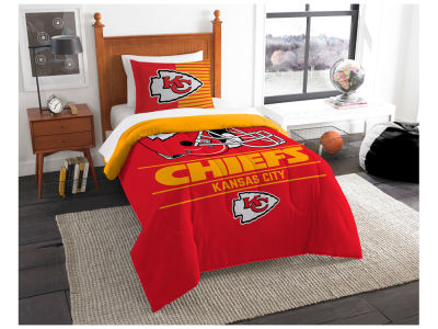 Kansas City Chiefs The Northwest Company Draft Twin Comforter Set