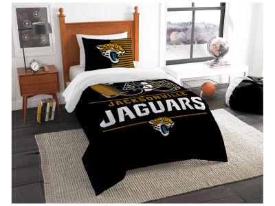 Jacksonville Jaguars The Northwest Company Draft Twin Comforter Set