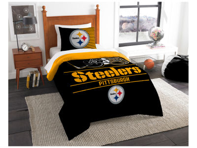 Pittsburgh Steelers The Northwest Company Draft Twin Comforter Set