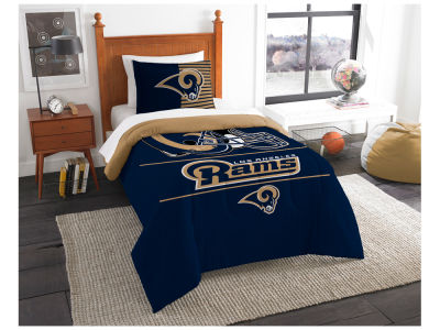 Los Angeles Rams The Northwest Company Draft Twin Comforter Set