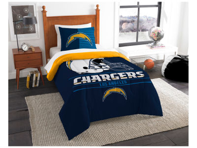 Los Angeles Chargers The Northwest Company Draft Twin Comforter Set