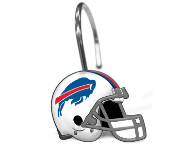 Buffalo Bills The Northwest Company Shower Curtain Rings