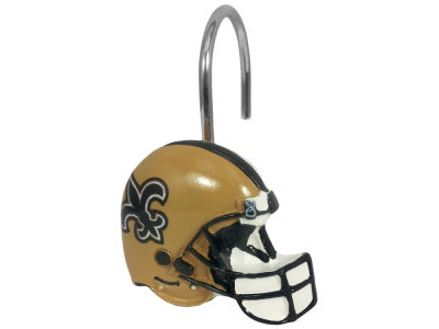 New Orleans Saints The Northwest Company Shower Curtain Rings