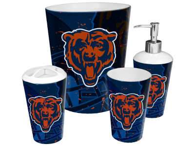 Chicago Bears The Northwest Company NFL 4 Piece Bath Set
