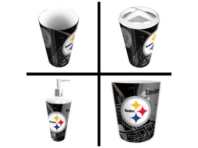 Pittsburgh Steelers The Northwest Company NFL 4 Piece Bath Set