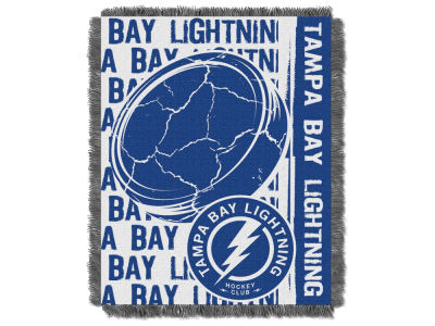 Tampa Bay Lightning The Northwest Company Double Play Jaquard Blanket