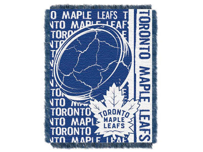 Toronto Maple Leafs The Northwest Company Double Play Jaquard Blanket