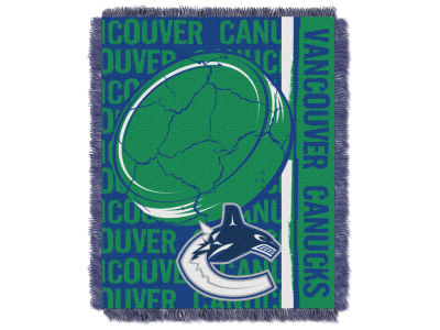 Vancouver Canucks The Northwest Company Double Play Jaquard Blanket